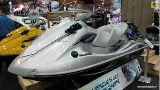 7. 2013 Yamaha Wave Runner VX Cruiser Jet Ski - Walkaround - 2013 Montreal Boat Show