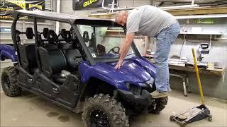 7. Yamaha Viking front shock upgrade