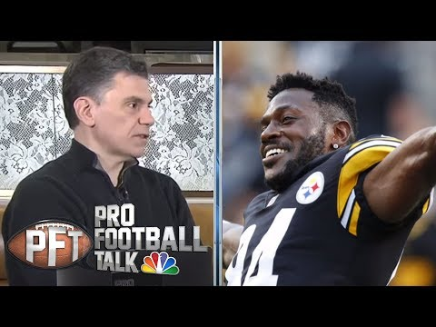 Video: Antonio Brown's future with Pittsburgh Steelers up in air | Pro Football Talk | NBC Sports
