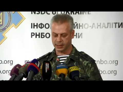 crisis - Col. Andriy Lysenko, the National Security and Defense Council information center spokesman.