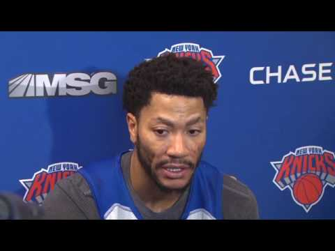 Video: Derrick Rose explains absence from New York Knicks