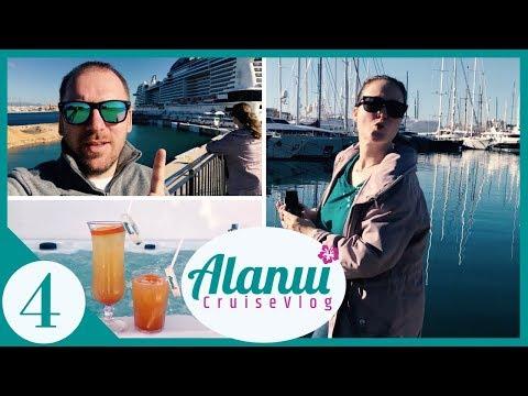 Seekrank auf Kreuzfahrt & Ausflug nach Mallorca |🌺CruiseVlog #4 - MSC Meravigl… видео