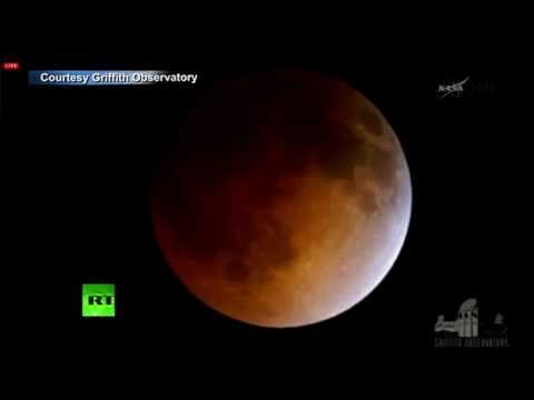 RT - The first total lunar eclipse in two and a half years is taking place on April 15th. The rare event will be visible over much of North America on Tuesday as ...
