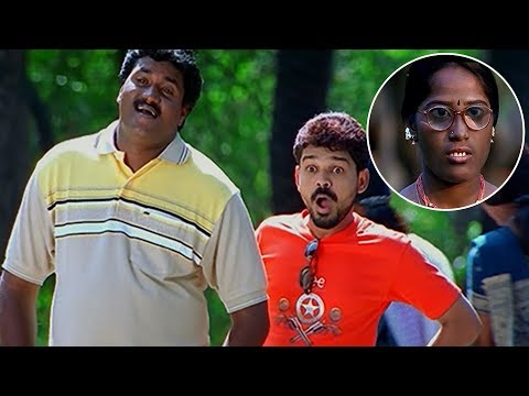 Sunil Funny Love Trails To Black Beauty Outstanding Comedy Scenes | Comedy Express