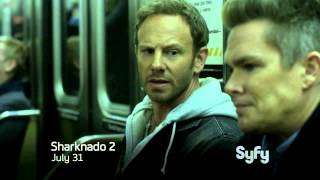 Nonton Sharknado 2  The Second One   Exclusive Sneak Peek   Syfy Australia Film Subtitle Indonesia Streaming Movie Download