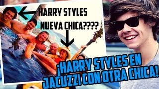 ¡Harry Styles Jacuzzi con Otra Chica!