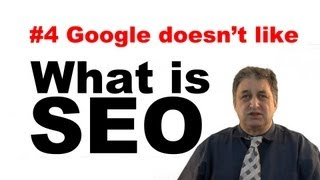 #4 SEO Tutorials For Beginners   Bad Search Engine Optimization (Black Hat SEO)