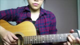 Watch my cover here: https://youtu.be/pohEr-4pfCUHello all! As requested, here's a tutorial for BTS's Spring Day. Sorry if it's sloppy or too fast.. I didn't wanna make the video too long. I hope this is easy to follow, and good luck! Pls like, comment, and subscribe!  ^^☆ Follow me :) ☆Instagram: km.kpopacoustic(personal account) kristinemay13Facebook.com/kristinemay13