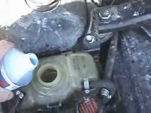 BlueDevil Head Gasket Sealant Works