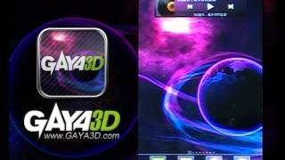 Gaya3D Space Live Wallpaper YouTube video
