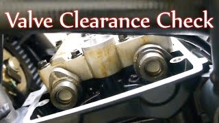 9. Tiger 800 - Valve Clearance check