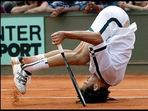 Tennis Best Bloopers Trick Shot Tennis 2015