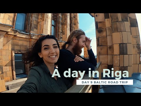 A day in Riga (and driving to Estonia) - Baltic road trip day 9 vlog
