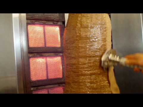 Kebab Knife - Topline heavy duty kebab slicer by Unique Kebab Knife