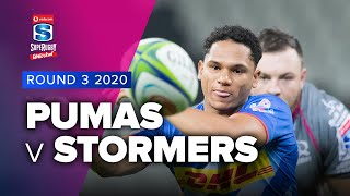 Pumas v Stormers Rd.3 2020 Super rugby unlocked video highlights
