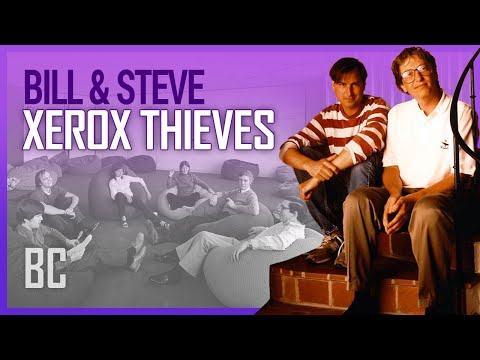 Video The Xerox Thieves: Steve Jobs & Bill Gates download in MP3, 3GP, MP4, WEBM, AVI, FLV January 2017