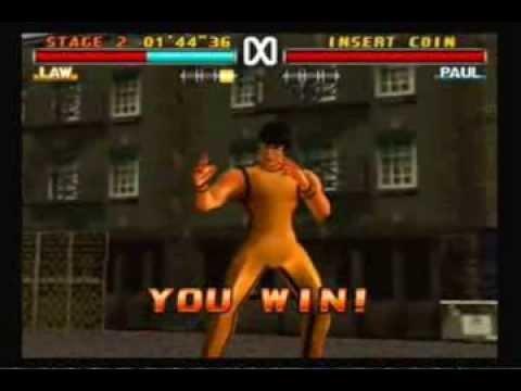 Video Tekken 3 - Law [Hard Mode] Arcade Mode download in MP3, 3GP, MP4, WEBM, AVI, FLV January 2017
