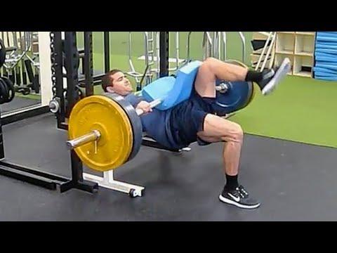 【爆発力向上】臀部の強化におすすめ!「ワンレッグヒップスラスト」