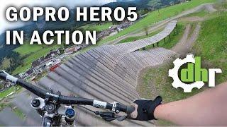 Video GoPro Hero5 Black: Mountain Bike Park Leogang. Video Stabilization, Wind Noise MP3, 3GP, MP4, WEBM, AVI, FLV Mei 2017