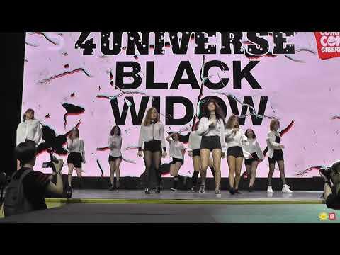 4Universe Black Widow - (Dark Dance Show), Блок 1 Comic Con Siberia Halloween