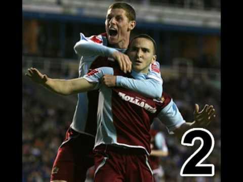 10 Mejores Goles del Burnley FC - Temporada 2008 - 2009