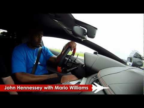 Lamborghini  Aventador Runs 167 mph in 1/2 Mile