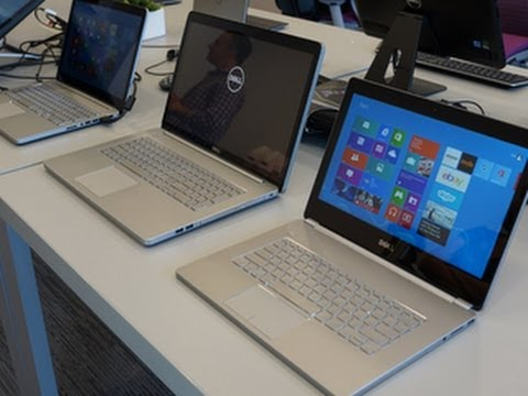 7000 - A high-end Inspiron makeover combines aluminum bodies, touch screens, and new CPUs.