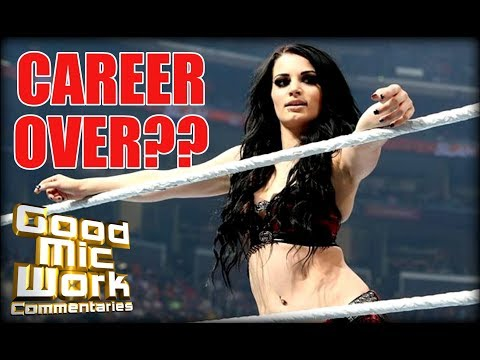 BREAKING NEWS:  Paige's WWE In-Ring Career Possibly OVER