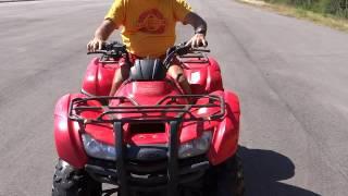 3. GovDeals: 2013 Honda TRX420 Rancher 4x4 ATV