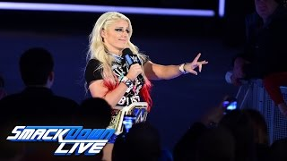 Watch: Alexa Bliss sets out to mock the returning Naomi: SmackDown LIVE, Jan. 24, 2017