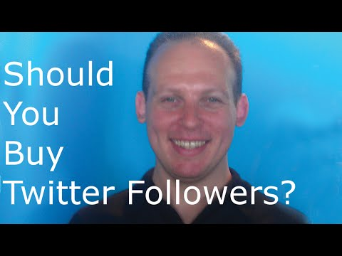 Should you buy twitter followers? I say yes, it is a good idea to buy Twitter followers