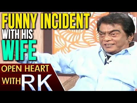 Senior Actor Jeeva Shares Funny Incident Of His Wife | Open Heart With RK | ABN Telugu
