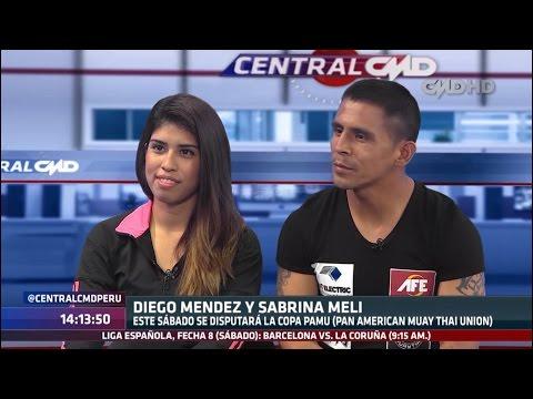 Central CMD Entrevista A Sabrina Meli Y Diego Méndez