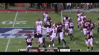 Khaseem Greene vs Virginia Tech (2012 Bowl)