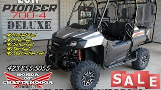 5. 2017 Honda Pioneer 700-4 Deluxe Review of Specs & Features - Discount Prices @ Honda of Chattanooga!