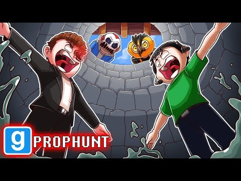 THEY WON'T FIND US IN NOGLA'S WELL!  (Gmod Prop Hunt Funny Moments)