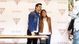 Joe Jonas (Streaming) Firma de Autógrafos Guess Plaza Antara México | Showcase