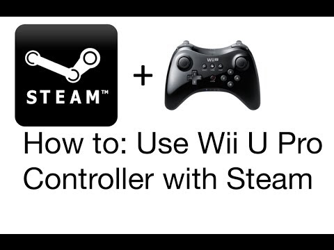 how to sync wii u pro controller to pc