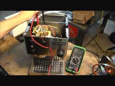 How to Repair a Rancilio Silvia Espresso Machine with a Popped Heating Element