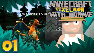 Minecraft PIXELMON with aDrive! Ep01 A New Server and Journey! - PocketPixels White Let's Play! by aDrive