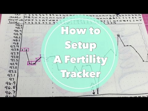 Period / Ovulation / Fertility Chart | BBT Charting in my Bullet Journal| I'm A Cool Mom
