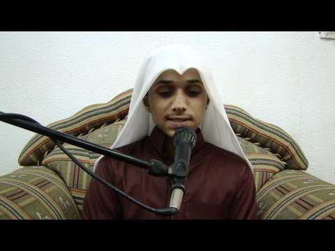 تلاوة الطالب:أحمد عواجي الحارثي [HD]