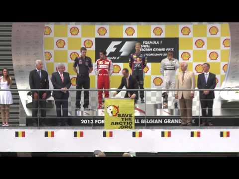 Así saco a la luz Greenpeace el secreto de Shell en plena entrega de premios F1
