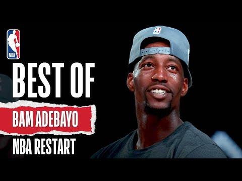 Bam's Best 💥 The Top Plays From Bam Adebayo #NBARestart