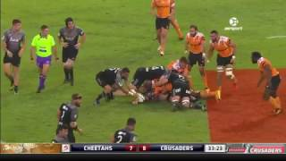 Cheetahs v Crusaders Rd.10 Super Rugby Video Highlights 2017