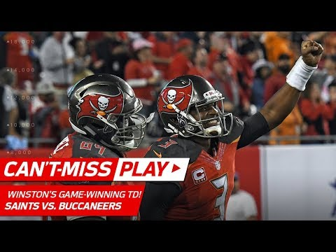 Video: Jameis Winston Tosses Game-Winning TD Pass vs. New Orleans! | Can't-Miss Play | NFL Wk 17