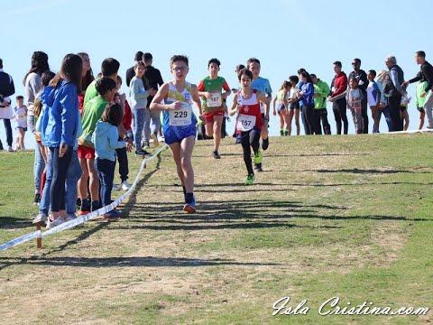 Campeonato de Andalucía de Campo a Través celebrado en Lepe