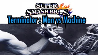 Since Terminator 2 3D Releases today I decided to make a fun smash bros fight with machines vs man . Please Enjoy!