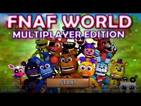 FNaF World Multiplayer - Сильные Атаки