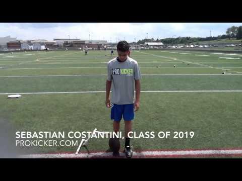 Sebastian Costantini, Kicker, Class of 2019